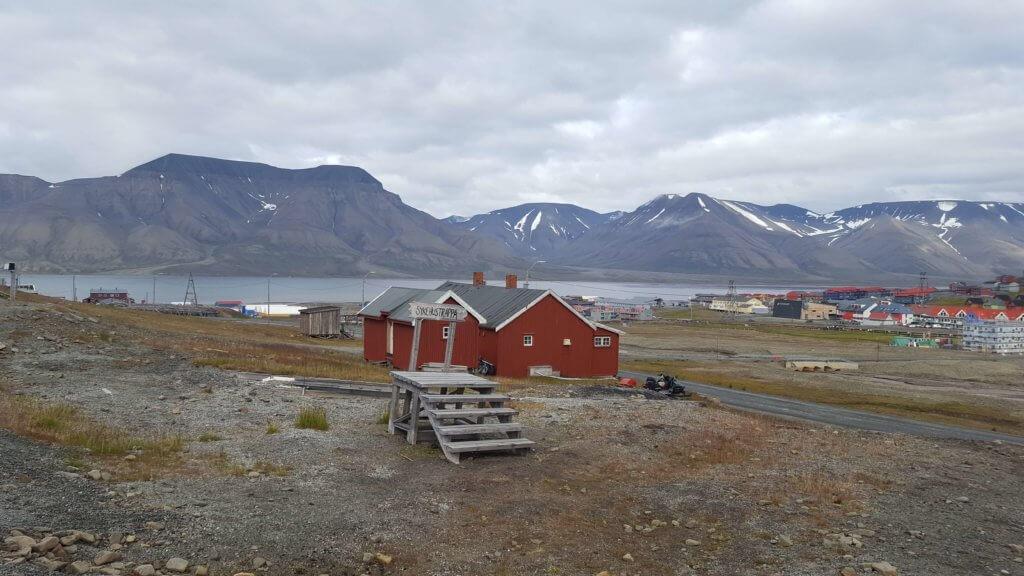 Longyearbyen w kolorze tundry