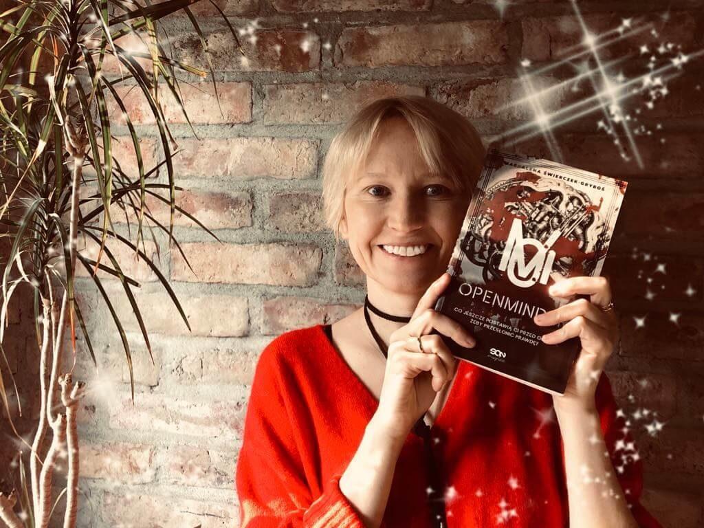 """Recenzja książki """"Openminder"""" Magdaleny Świerczek-Gryboś"""
