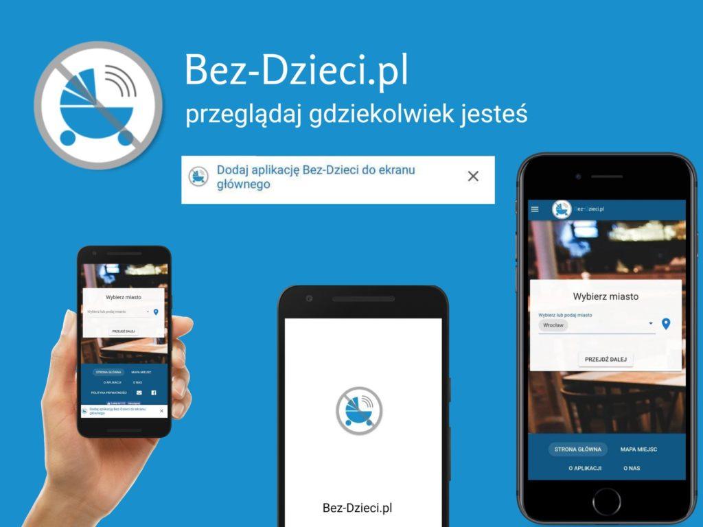 Aplikacja Bez-Dzieci.pl