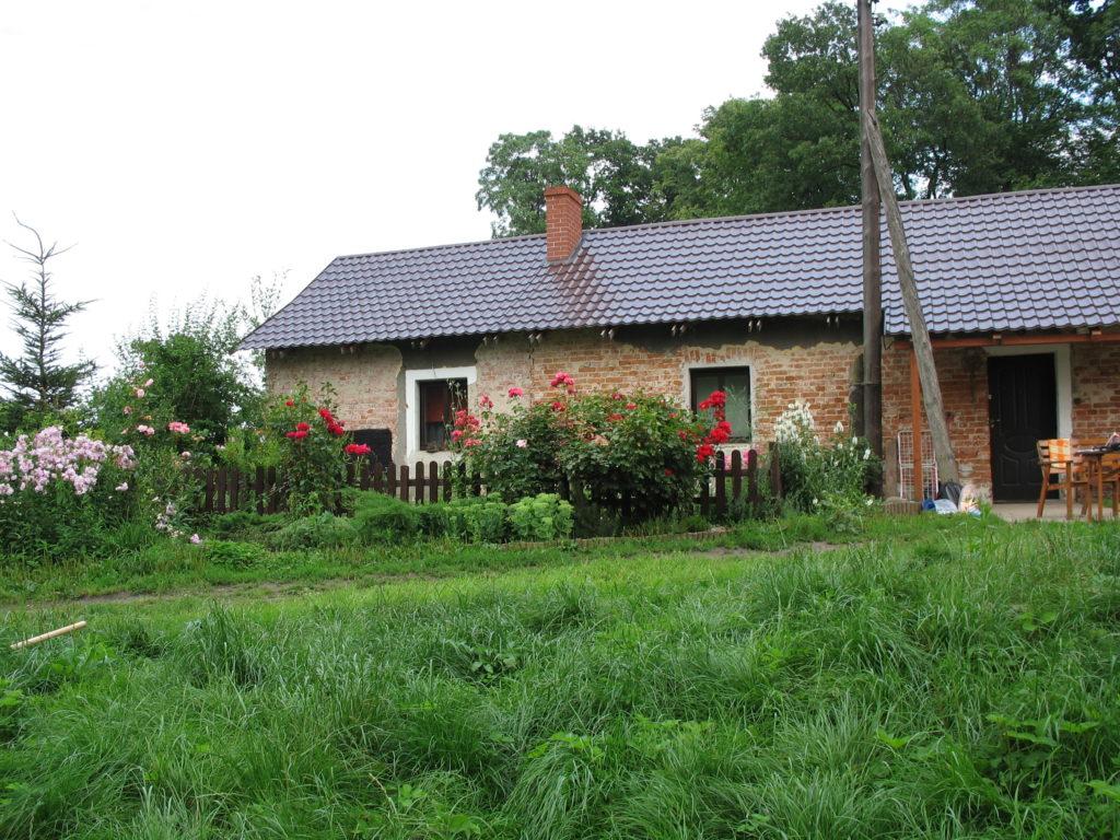 Domek ogrodnika dawniej