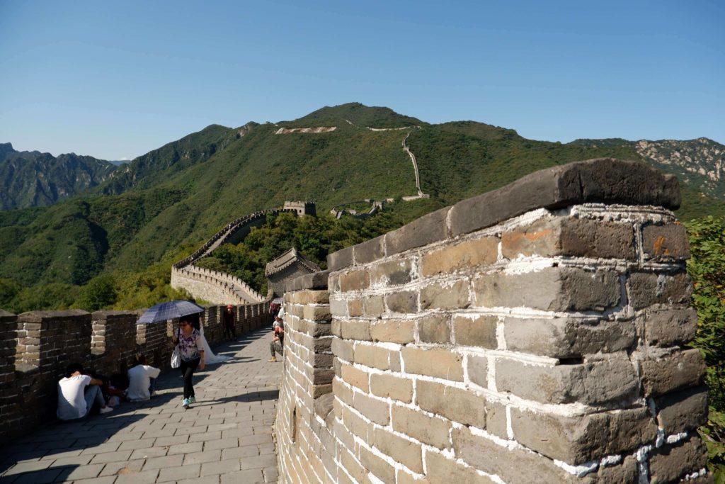 W Chinach odwiedziła mnie mama. Miałyśmy szczęście z pogodą na Wielkim Murze Chińskim